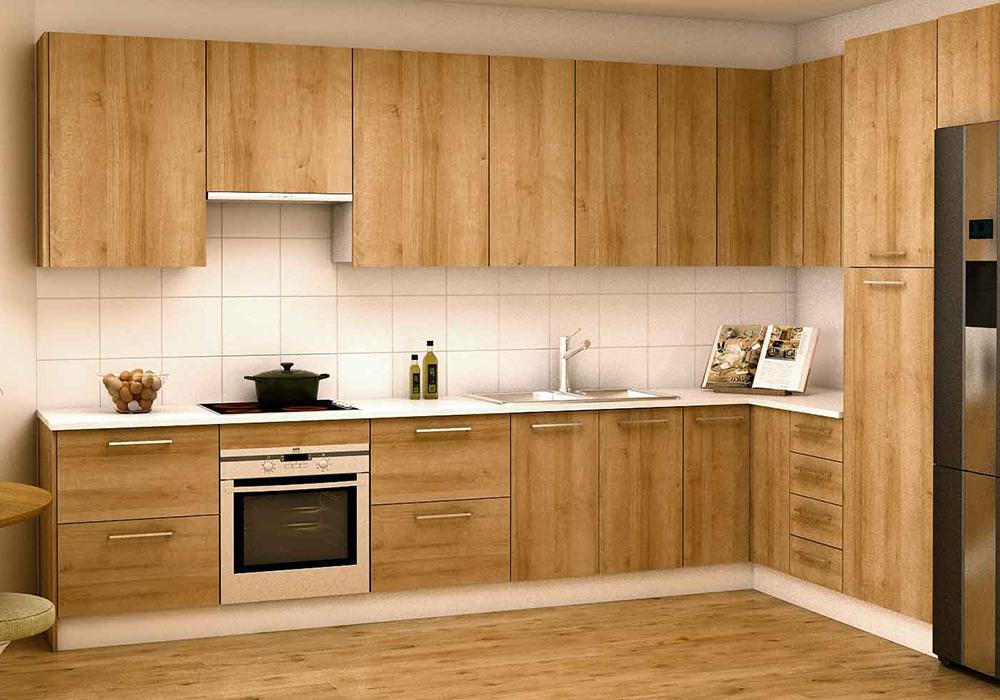 Acabados de los muebles de cocina en kit kitchef de mekablock - Cocinas en kit ...
