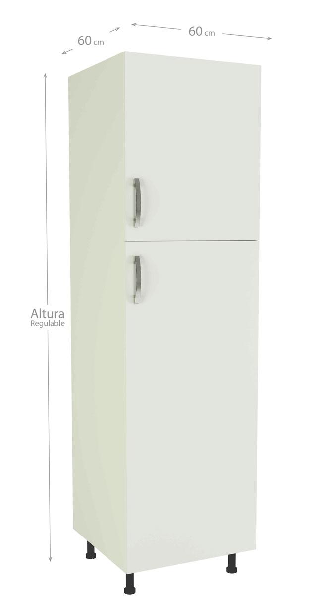 M dulos de cocina blancos de f cil montaje modelo kit kit - Modulos de cocina ...