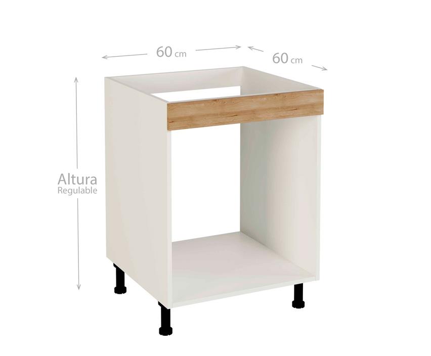 Muebles de cocina modelo kit & kit color haya natural