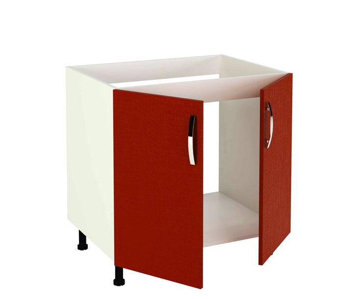 Mueble de cocina modelo kit kit color rojo burdeos en kit for Comprar muebles de cocina en kit