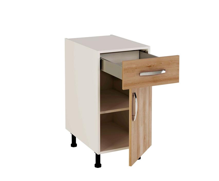 Muebles de cocina modelo kit kit color haya natural - Modulos de cocina en kit ...