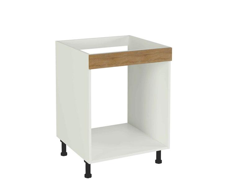 Muebles de cocina kit kit color roble cortez para montar for Cascos de cocina baratos