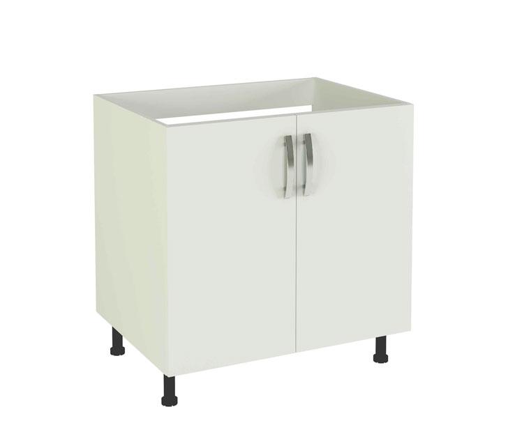 Módulos De Cocina Blancos De Fácil Montaje Modelo Kit Kit