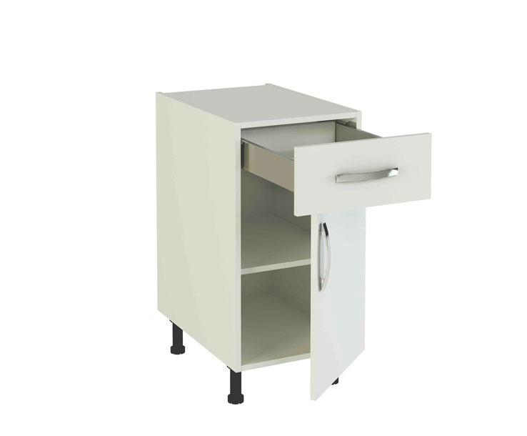 Modulos y puertas de cocina en kit la idea for Modulos de cocina en kit baratos