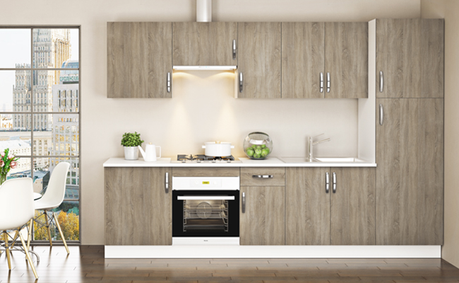 Muebles de cocina en kit toledo ideas for Muebles de cocina en kit baratos